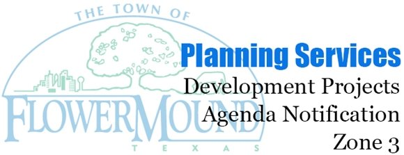 Planning Services Development Projects Agenda Notification Zone 3 graphic
