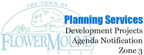Development Projects Agenda Notification - Zone 3