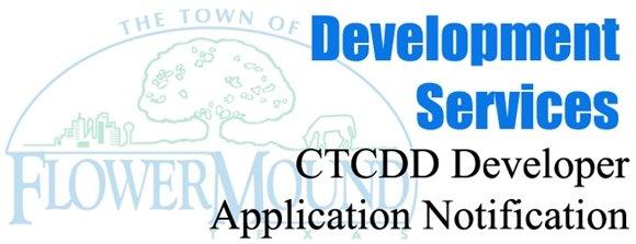 CTCDD Developer Application Notification Graphic Header
