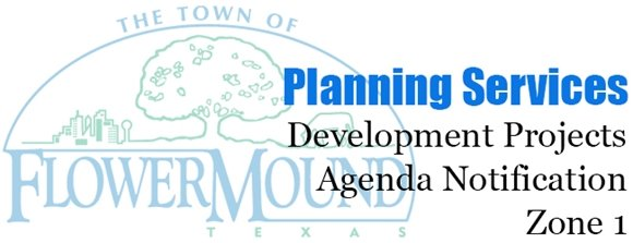 Planning Services Development Projects Agenda Notification Zone 1 Graphic