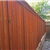 Picture of Cedar Fencing in a Backyard