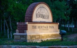Heritage Park Sign NEWSFLASH