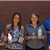 Photo of Communications Team Holding Trophies