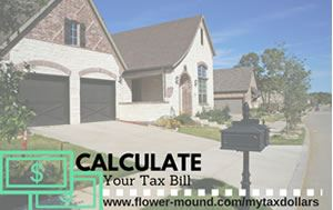 Photo of a single family home in Flower Mound