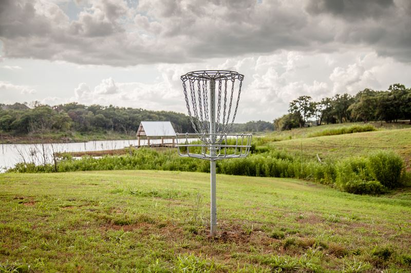 Twin Coves Park Disc Golf Basket