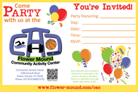 Birthday Party Invite 1