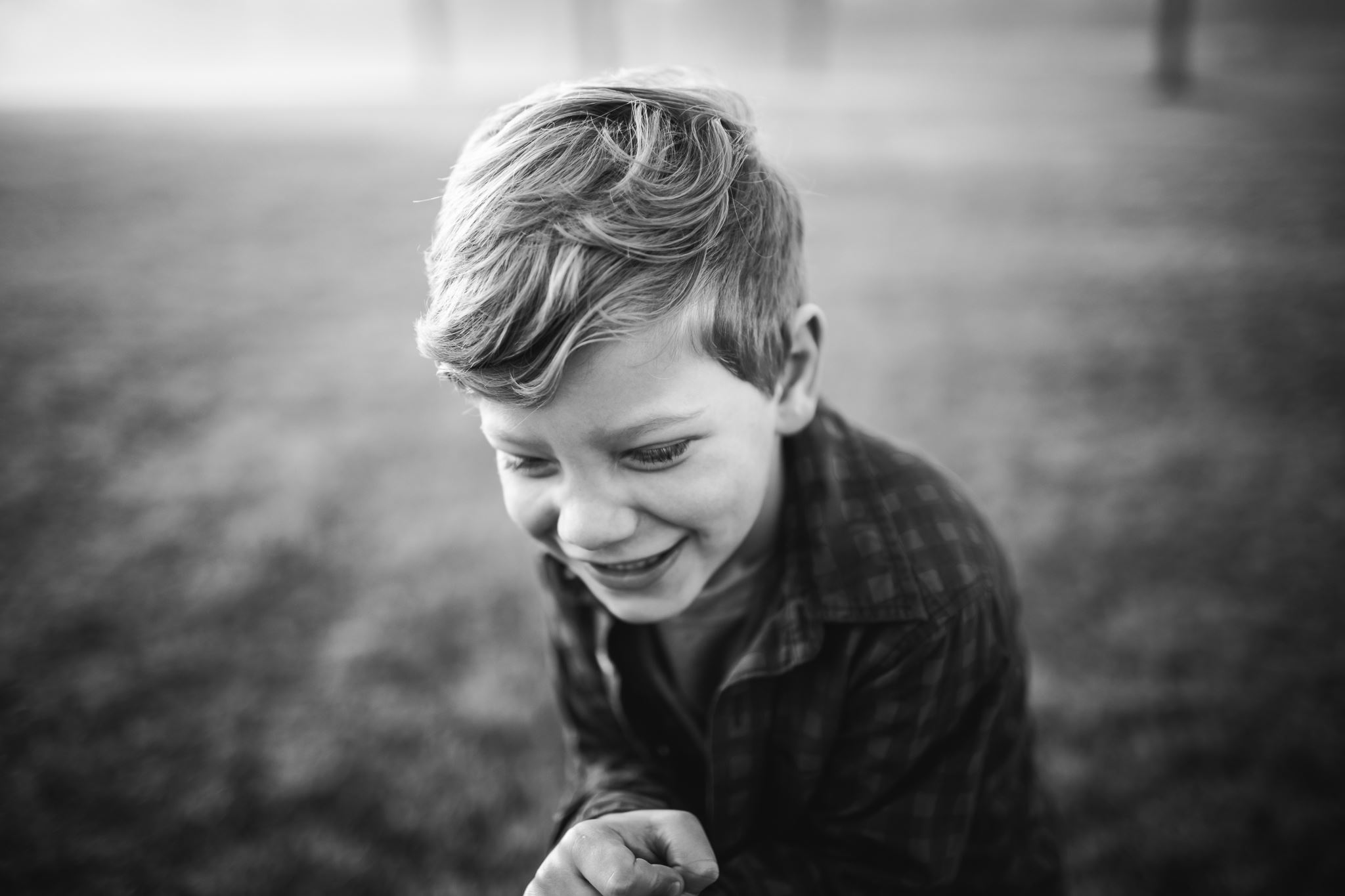 Photo of boy smiling