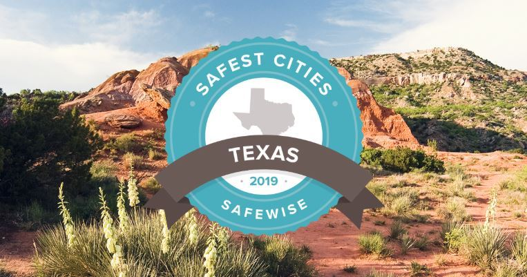 Safewise Safest Cities graphic
