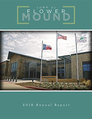 2018 Town of Flower Mound Annual Report Cover Thumbnail
