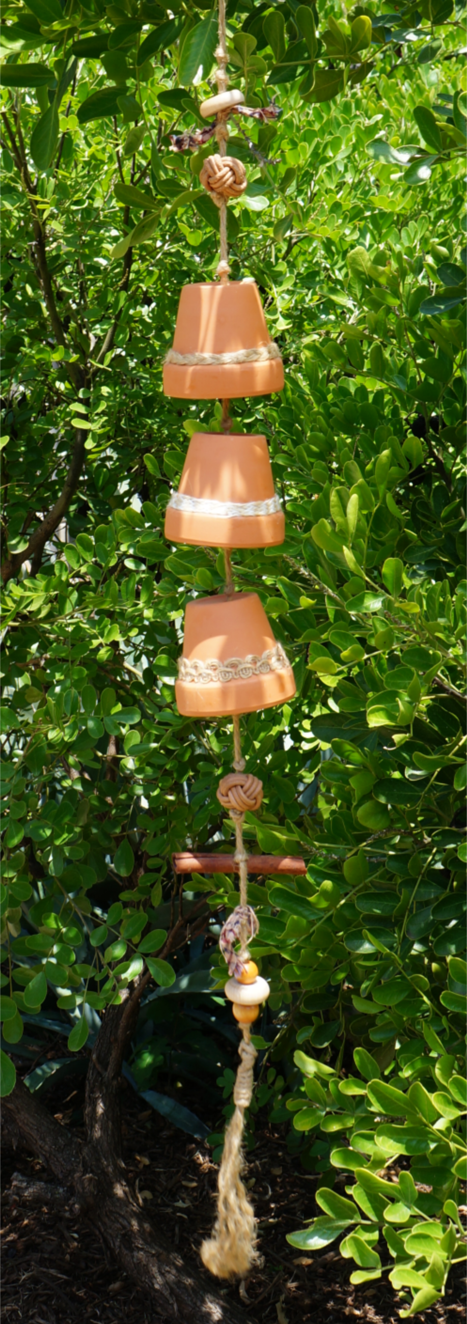 Garden Pot Wind Chime