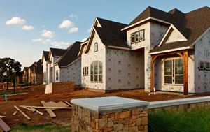 Housing Under Construction in Flower Mound