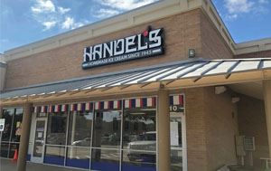 outside view of Handel's Homemade Ice Cream in Flower Mound