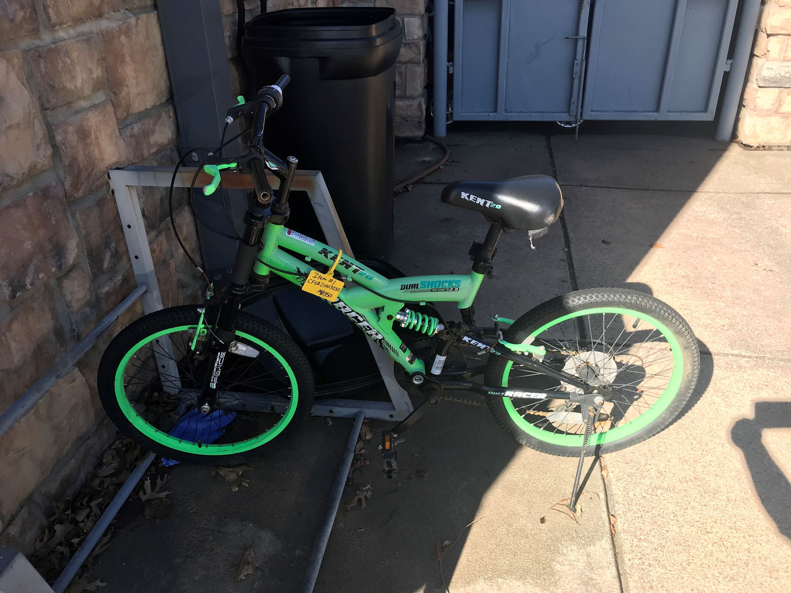 21003232 green bicycle