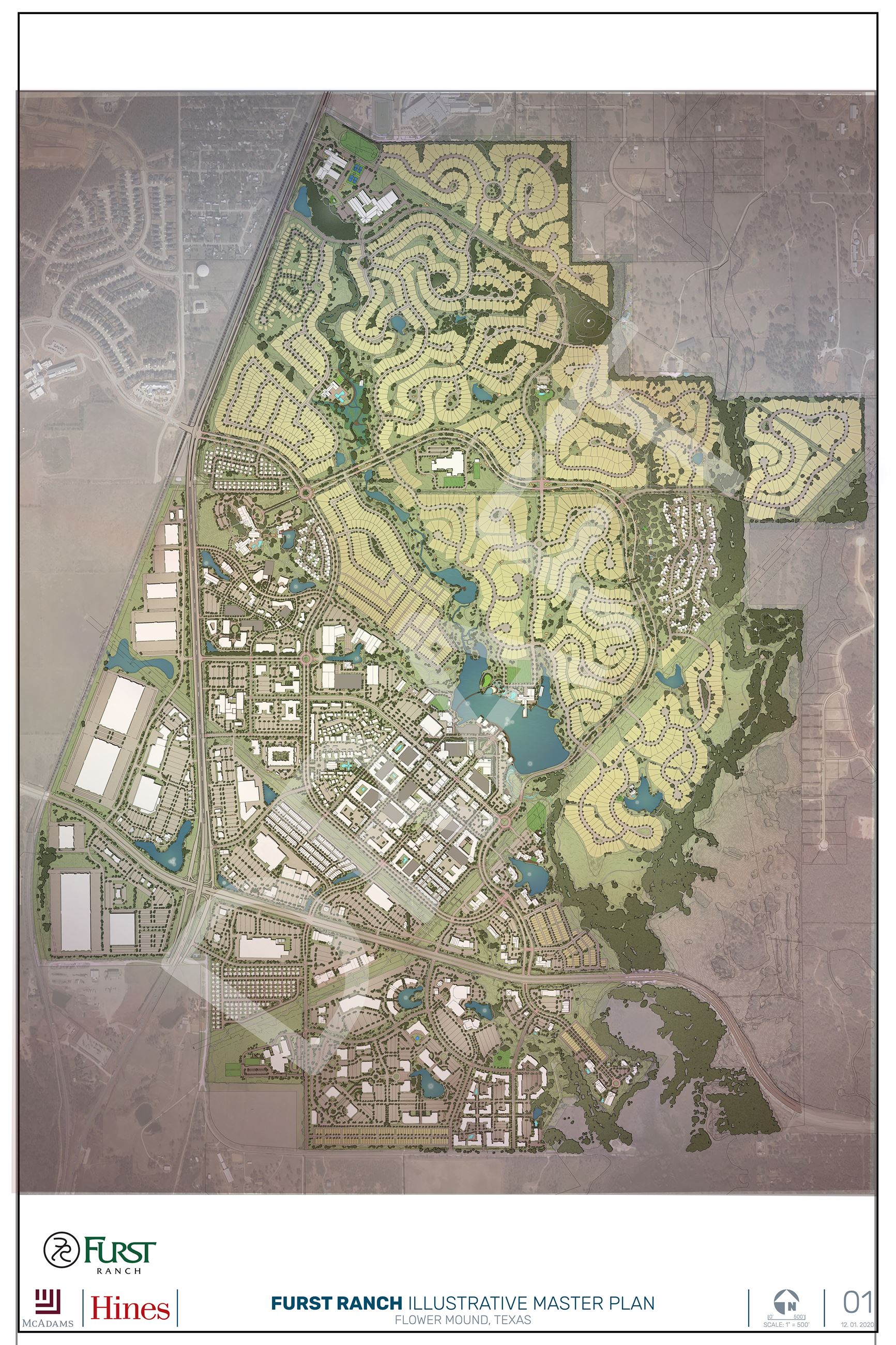 Furst Ranch Proposed Master Plan Map