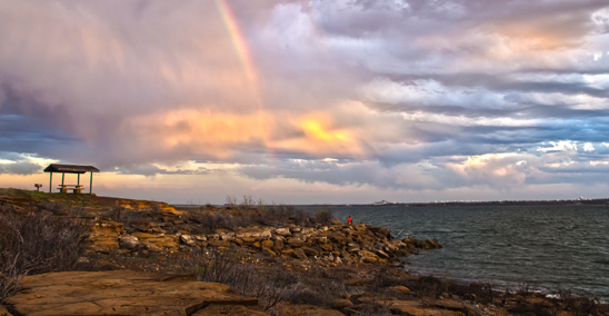 Twin Coves Rainbow