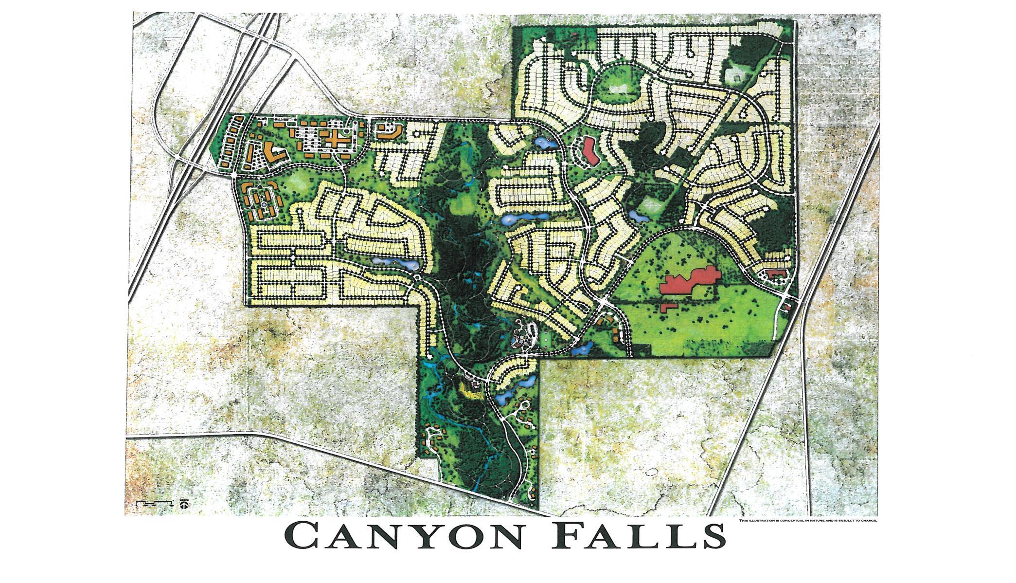 Flower Mound TX ficial Website Canyon Falls